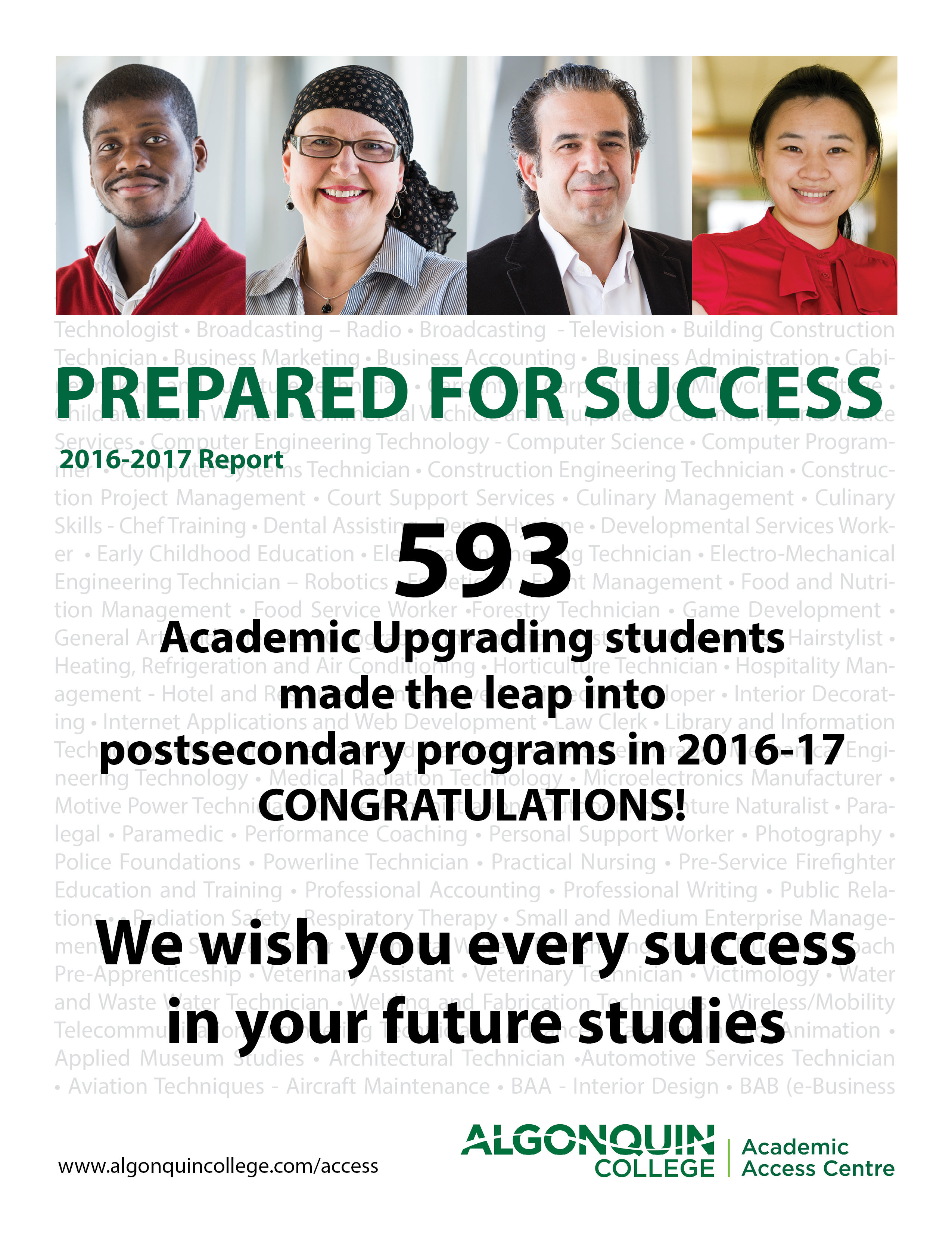 Academic Upgrading Programs