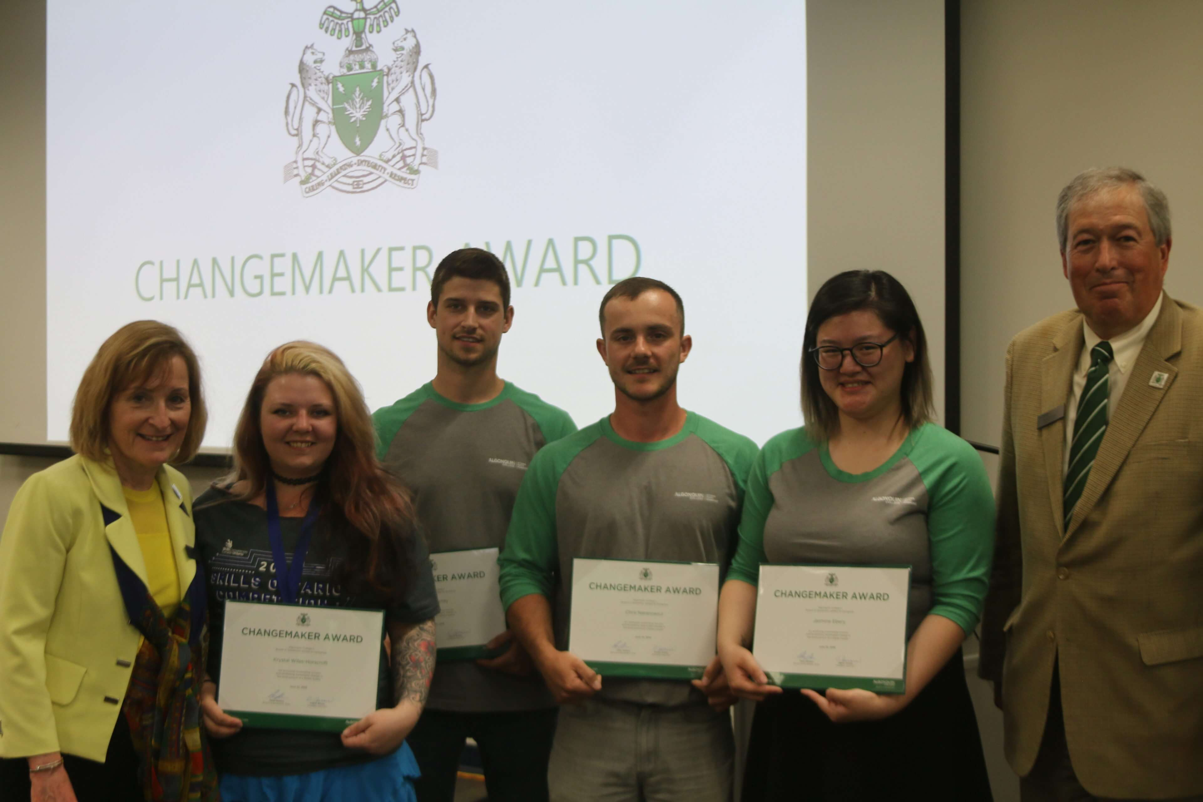 Student Changemaker Award Board Of Governors