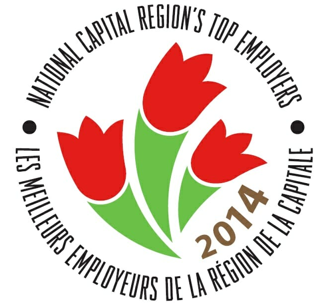 photo stating that algonquin college is one of the national captial region's top employers