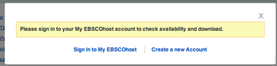 Print Screen of the EBSCO Download Intructions