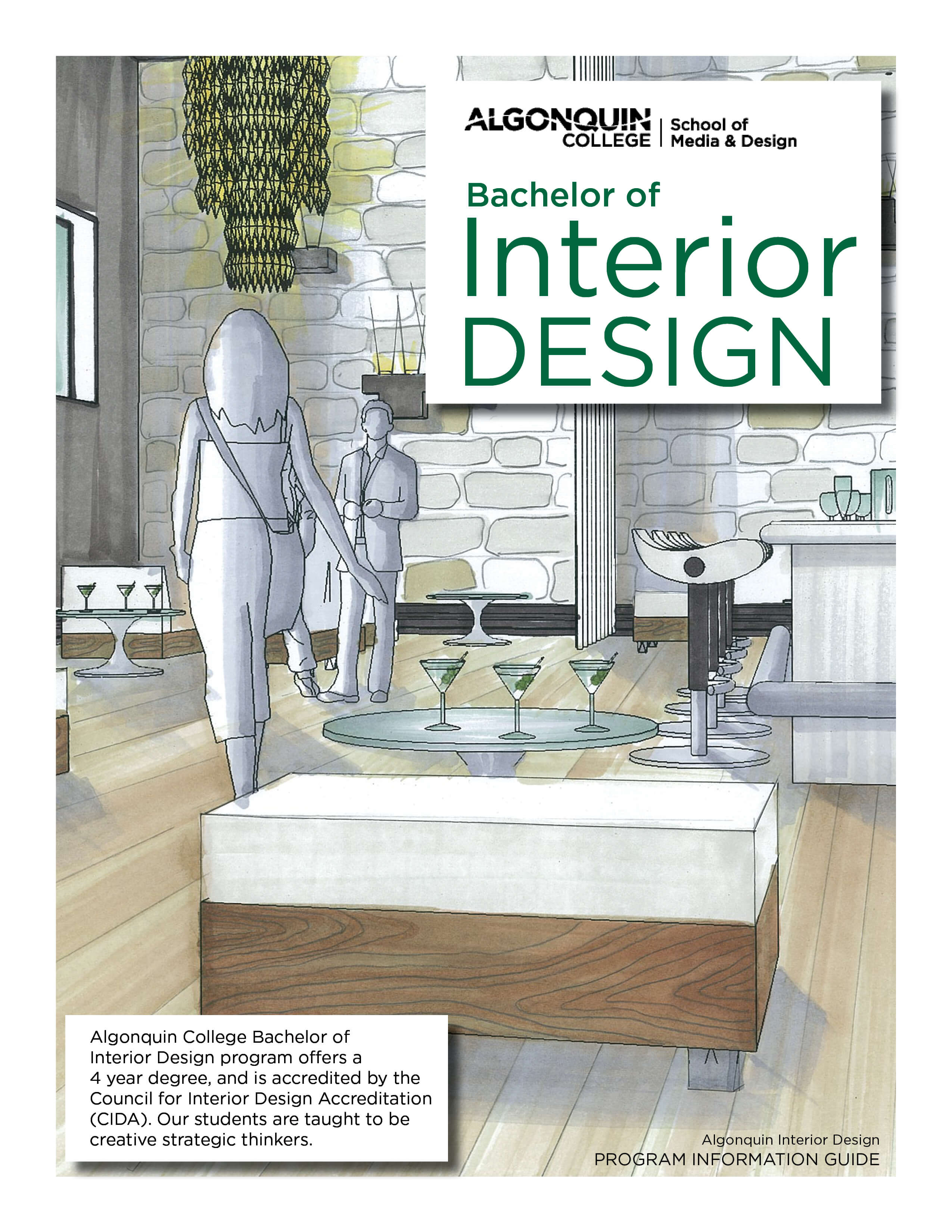Bachelor Of Interior Design Portfolio Information School Of Media Design