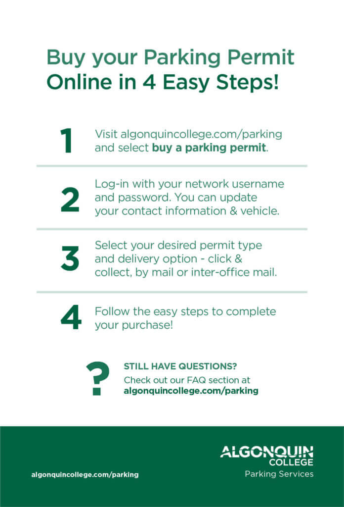 4 Easy Steps To Purchase A Parking Permit Online Parking Services