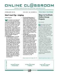 Ways To Facilitate Online Group Projects  Professional Development Comments