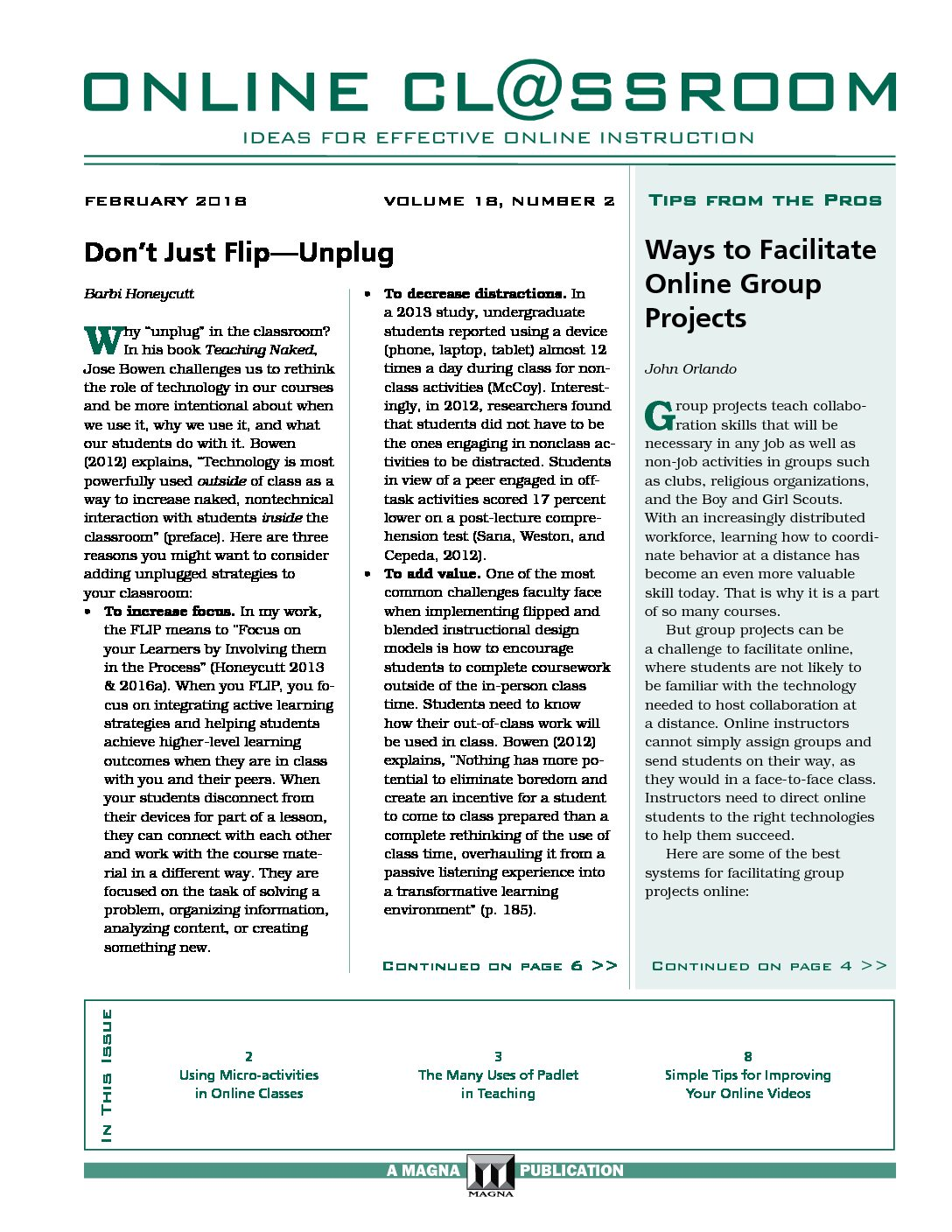 Ways To Facilitate Online Group Projects  Professional Development