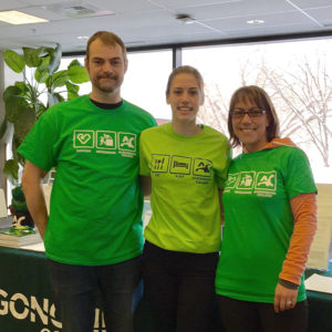 Algonquin College, Tour t-shirts for future students & supports