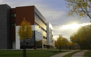 Pembroke Waterfront Campus at sunset - on page About Us - Directions to the Pembroke Waterfront Campus