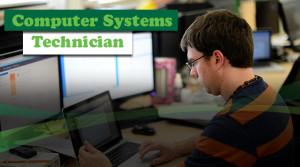 Computer Systems Technician Banner
