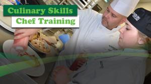 Culinary Skills Chef Training Banner
