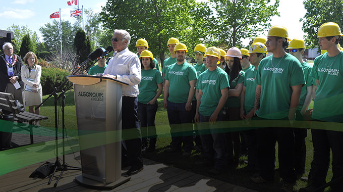 Algonquin College Students Rebuild Pembroke's Waterfront Boardwalk.