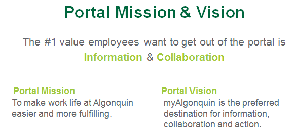 myAC mission and vision
