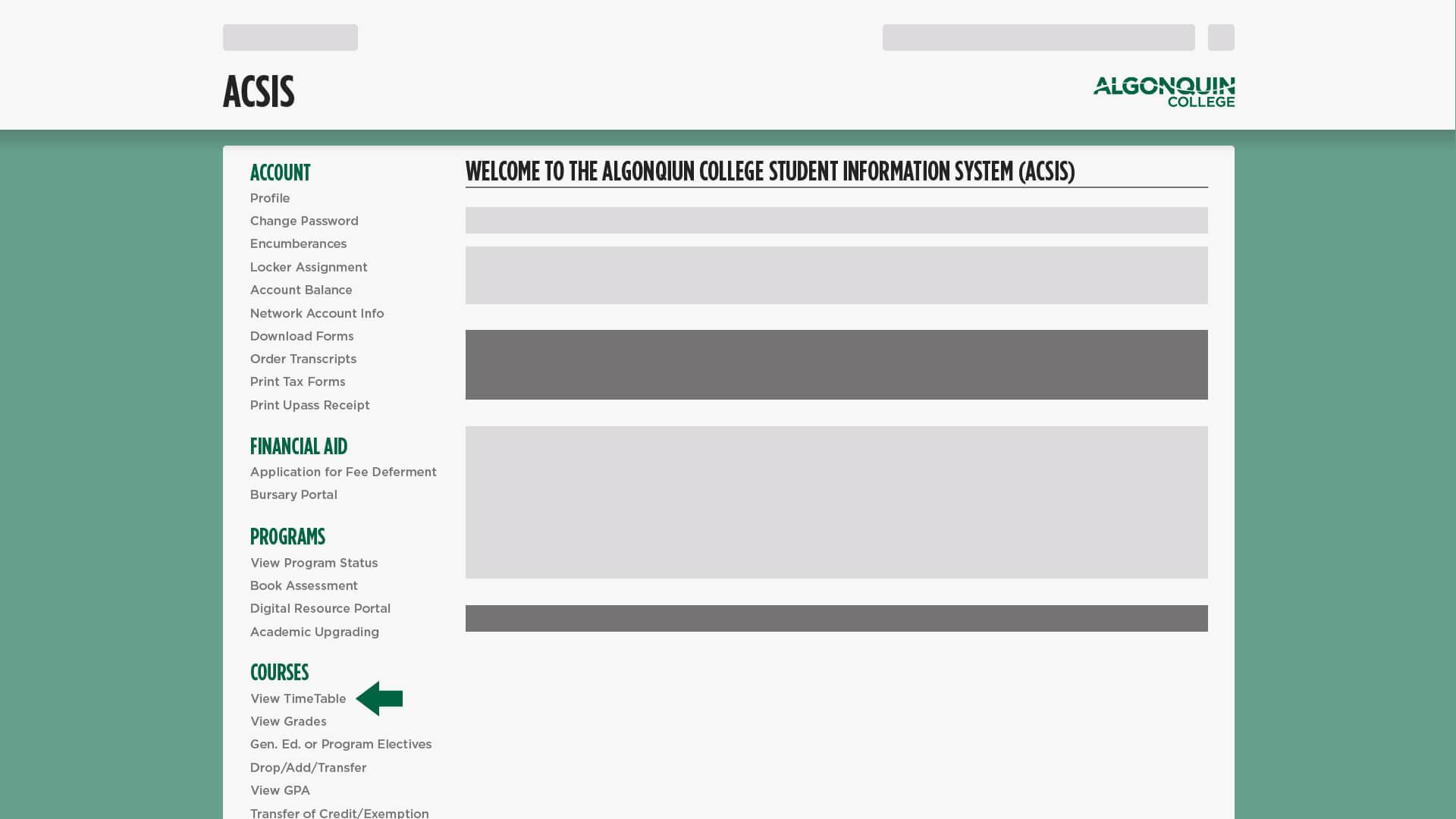 Algonquin College Course Calendar Wiring Diagrams