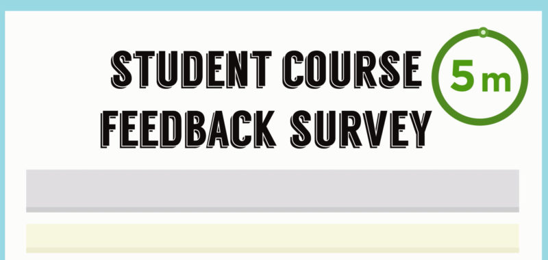 Student Course Feedback Survey