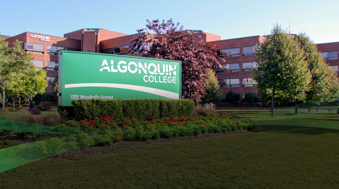 Welcome to Algonquin College!  Changing the way we think about accessibility.