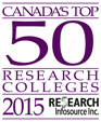 Algonquin is one Canada's Top 50 Research colleges of 2015.